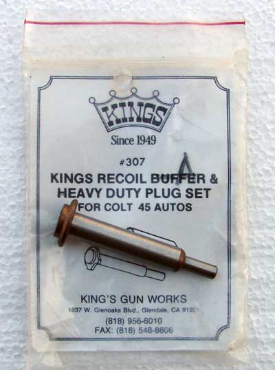Kings recoil buffer - 1911Forum