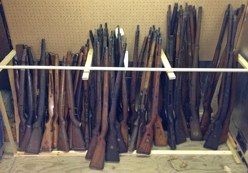 Hoosier Gun Works : Online Catalog : Stocks : Military Gun